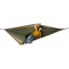 Большой гамак Ticket to the Moon King Size Hammock Army Green/Brown