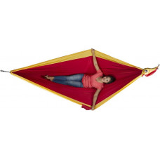 Большой гамак Ticket to the Moon King Size Hammock Burgundy/Dark Yellow