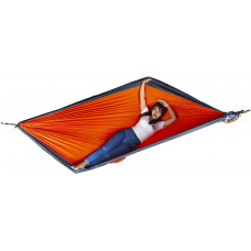 Большой гамак Ticket to the Moon King Size Hammock Orange/Dark Grey