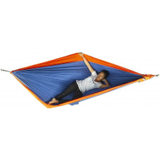 Большой гамак Ticket to the Moon King Size Hammock Royal Blue/Orange