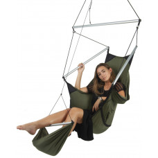 Подвесное кресло Ticket to the Moon Moon Chair Army Green