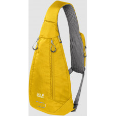 Рюкзак однолямочный Jack Wolfskin Delta Bag Air dark sulphur