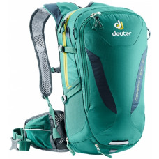 Deuter Compact Exp 12 Alpinegreen-Midnight - рюкзак велосипедный