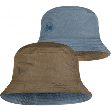 Панама двухсторонняя Buff Travel Bucket Hat Zadok Blue-Olive