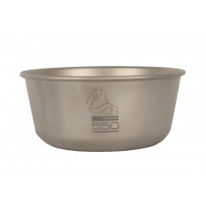 Пиала Ti Bowl 550 ml титановая